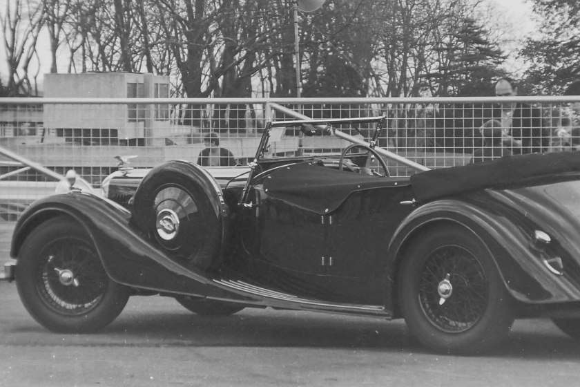 Photos 10 and 12 are of Speed 25 SB DLK 207 chassis 13366 then owned by Robert Davies, now in Germany. A much photographed car it appeared on the cover of Bulletin 215 with David Michie.