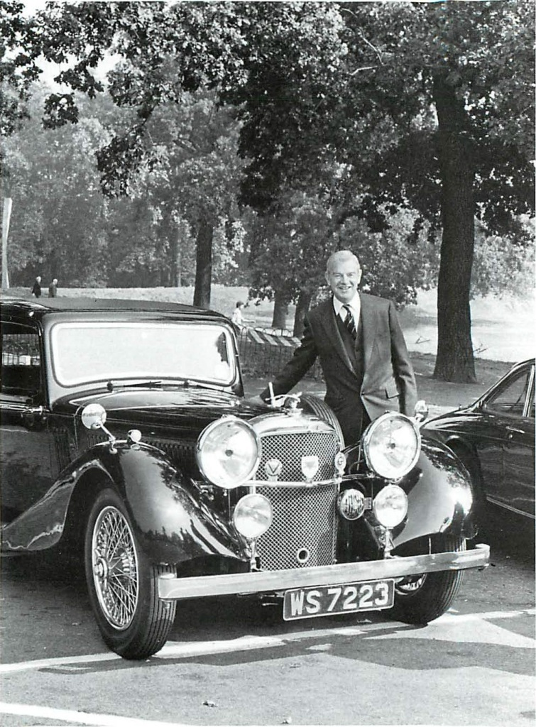 Sir George's 8th acquisition, an SD Speed 20 chassis13011, WS 7223, which had been obtained from the Farr Collection, where it had been endowed with a 4.3-litre engine