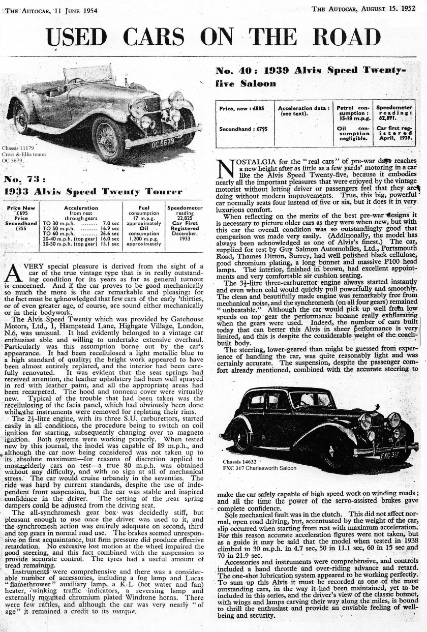 Library additions – Alvis Archive