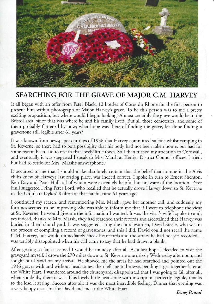 2003 Harvey Memorial programme 2 (2)
